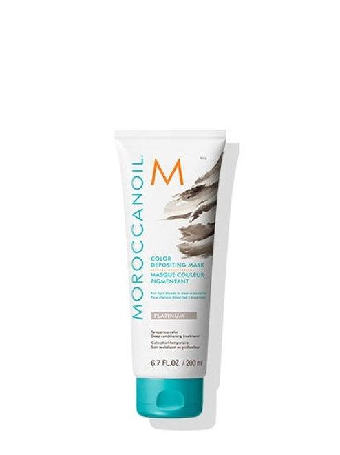 Moroccanoil Colour Depositing Hair Mask Platinum 200ml