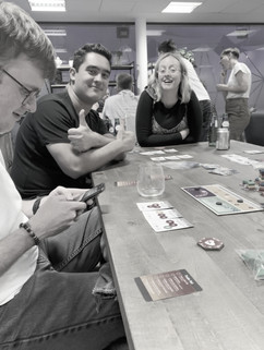 Playing data board games