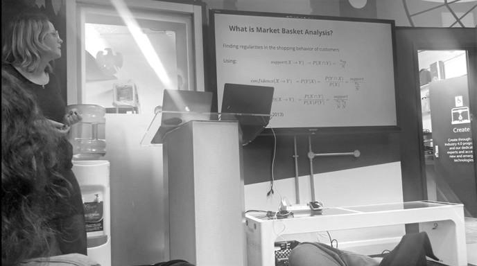 Katys first talk: MBA