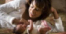 mom & newborn baby