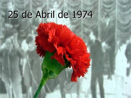 25 de Abril - Day of Freedom in Portugal