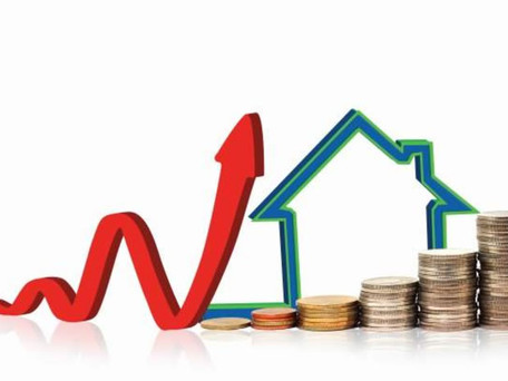House prices rose 8.6%, above the European average