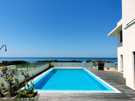 Vivenda T4 Moledo- Caminha em frente ao mar, com piscina