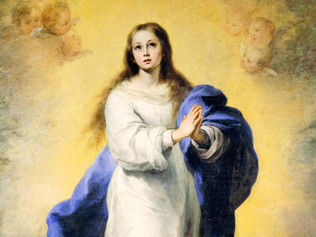 December 8th - Day of the Immaculate Conception