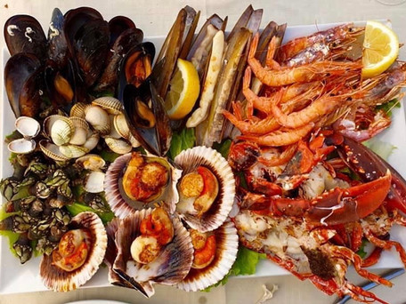 Seafood in Portugal