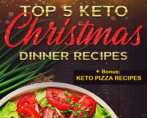 Keto Christmas Dinner Recipes with Bonus Keto Pizza Recipes