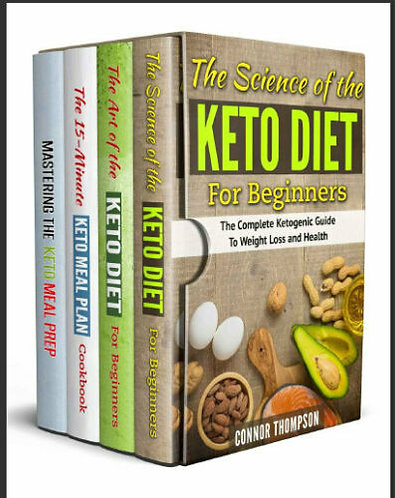 The Complete Keto Diet Plan for Beginners – 4 Book Set