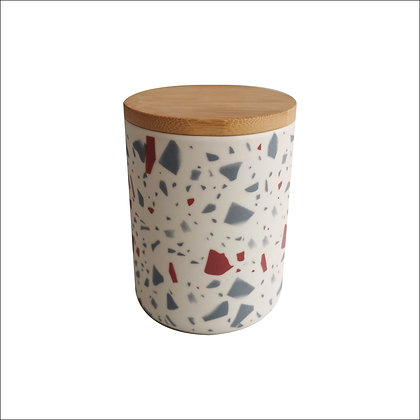 CANISTER 10.5X10.5X14CM/4X4X5IN