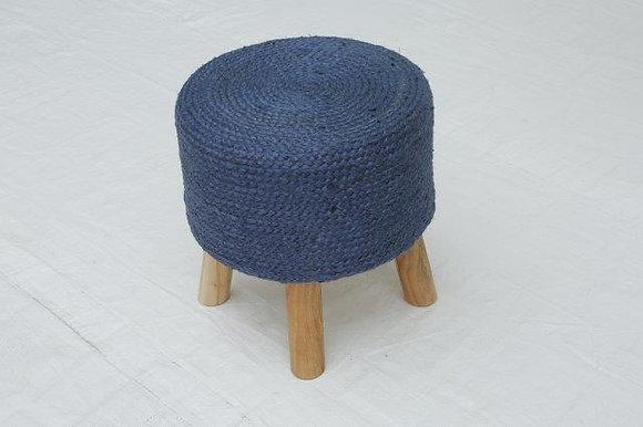 STOOL 40X40X40CM/16X16X16IN BLUE