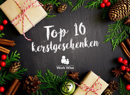 De Top 10 van de Kerstgeschenkenken 2016 zijn bekend!