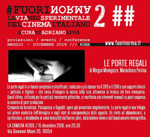 FUOINORMA-LA VIA NEOSPERIMENTALE DEL CINEMA ITALIANO