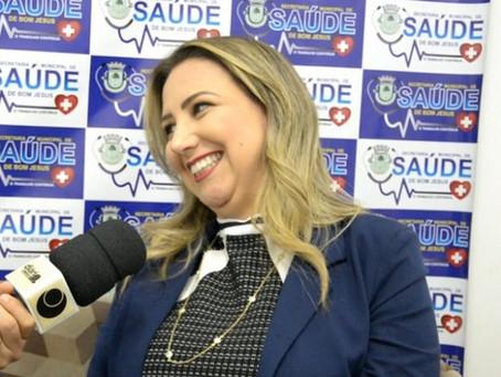 Secretária faz balanço da Saúde em Bom Jesus e se coloca à disposição para ser candidata em 2020