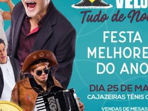 Na festa dos Melhores do Ano, destaque na Globo, humorista Lucas Veloso vem a Cajazeiras