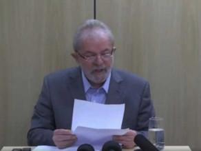 Leia pronunciamento feito por Lula e assista vídeo da primeira entrevista depois de ser preso