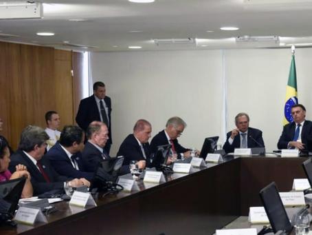 João Azevêdo discute MP 868 e ações para Educação com presidente Jair Bolsonaro