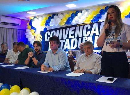 Pedro Cunha Lima e Camila Toscano vão comandar o PSDB na Paraíba