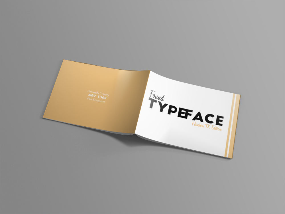 Typeface Front & Back View