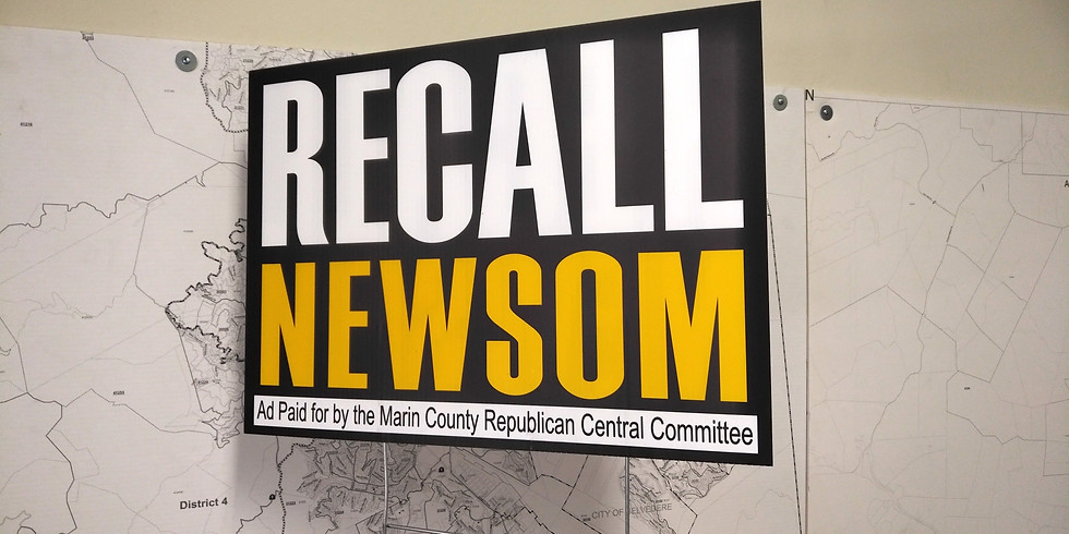 Recall Newsom Watch Party