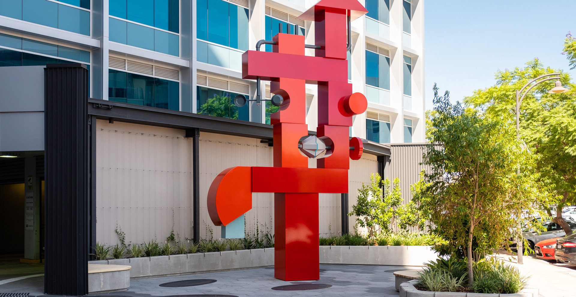 Public artwork – Subiaco (Collaboration with Paul Caporn)