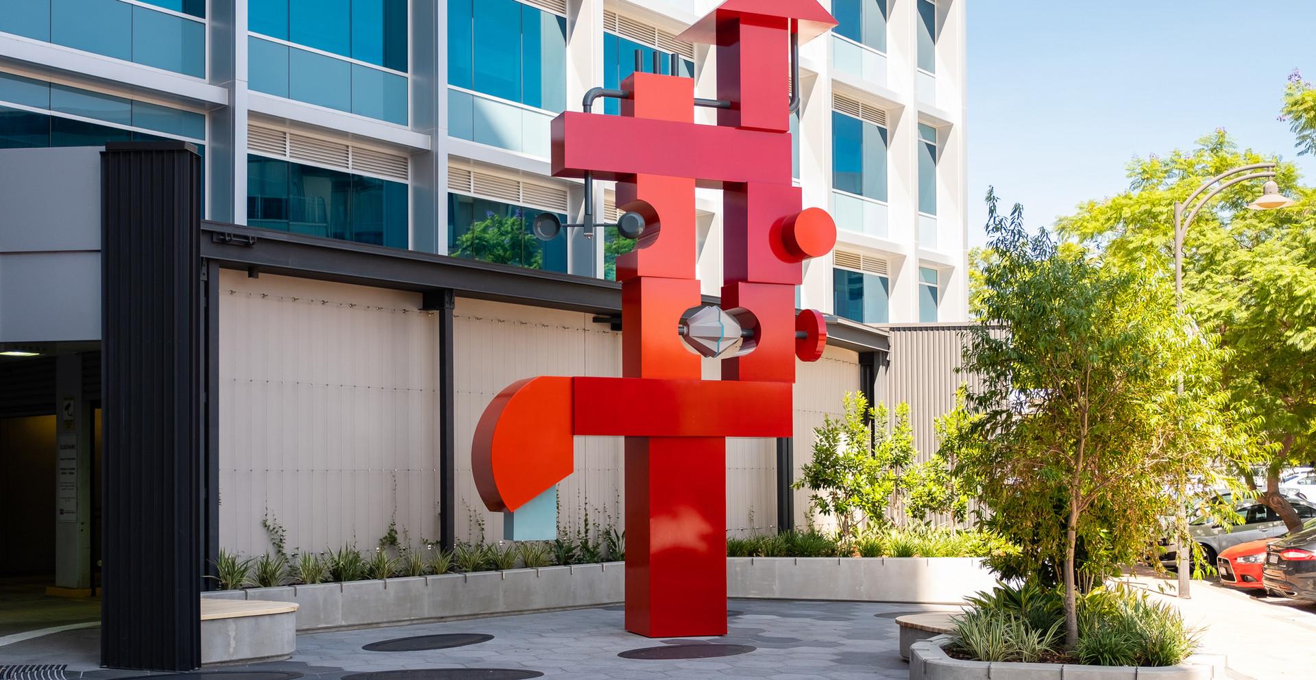 Public artwork – Subiaco (Collaboration with Paul Caporn)