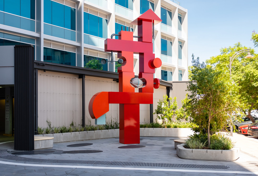 The Pump, Public artwork, Storie, Subiaco (Collaboration with Paul Caporn)
