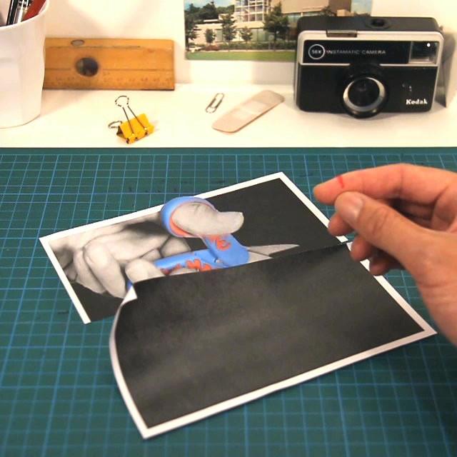Papercut – Stop motion
