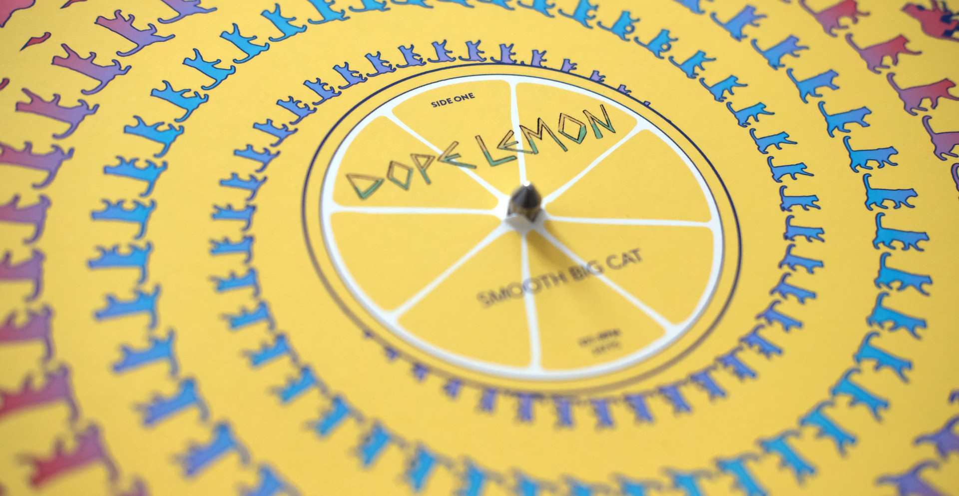 Dope Lemon 'Smooth Big Cat' – Animated vinyl