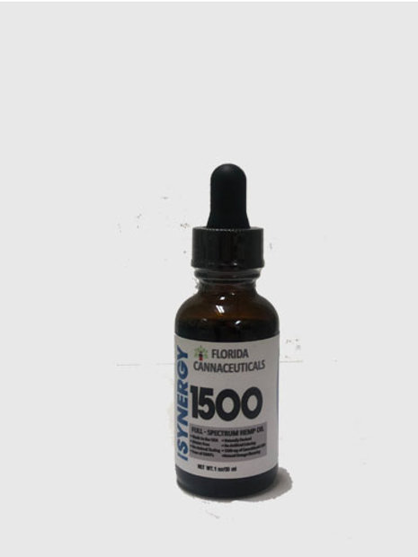 FULL SPECTRUM CBD TINCTURE 1500mg/30mL Bottle