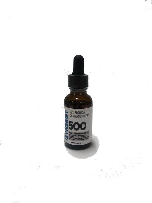 FULL SPECTRUM CBD TINCTURE 500mg/30mL Bottle