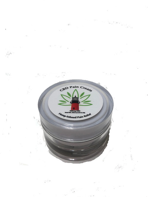 CBD PAIN CREAM 500mg/50mL Jar