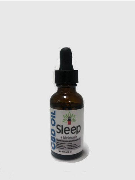 CBD SLEEP FORMULA with Melatonin/30mL Bottle