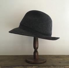 Wool Felt Hat with Darts