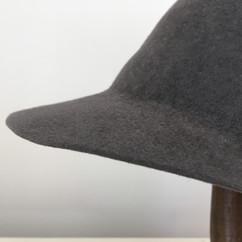 Rabbit Velour Round Cap