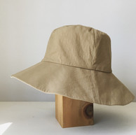 Dense Cotton Hat / Wide Brim
