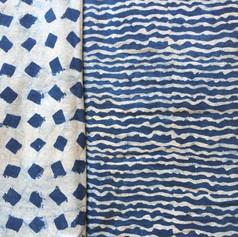 Cotton Indigo Block Print