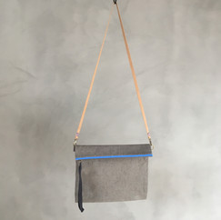 Wax Coated Cotton Multi Pouch Square