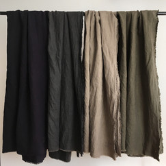 Winter Linen Shawl