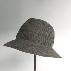 Paper Straw Hat with Darts