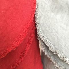 Linen Round Flap Shoulder