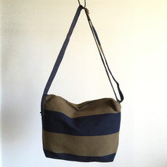 Recycled Cotton Stripes Shoulder