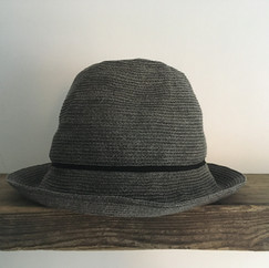 Paper Straw Hat with Line / Normal Brim