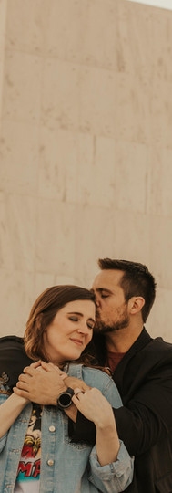 Downtown LYH Engagement || Leigh Ann + Matthew