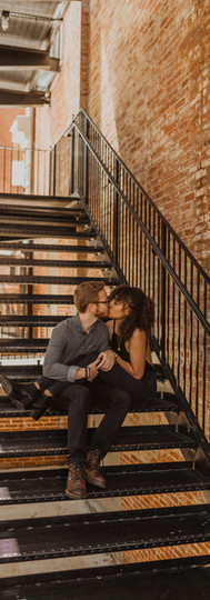 Downtown Lynchburg Engagement Session