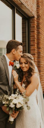 Belmont, NC Winter Wedding || Gabby + Dawson