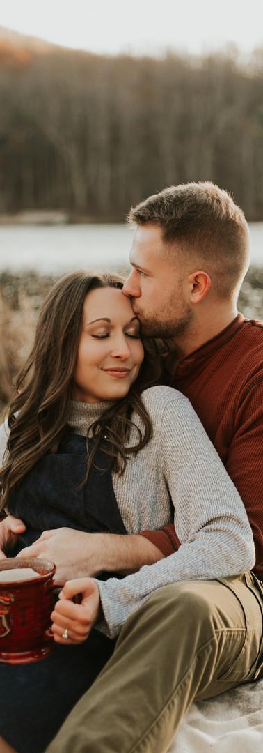 Peaks of Otter Engagement || Kelly + Mason