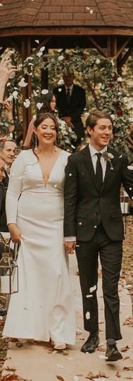 Fall Wedding in Ashland, Virginia
