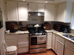 Oak Cabinets After
