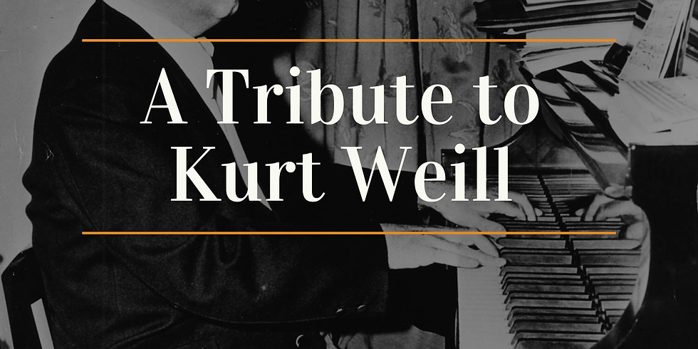 Available Now: POP-Up Series: A Tribute to Kurt Weill