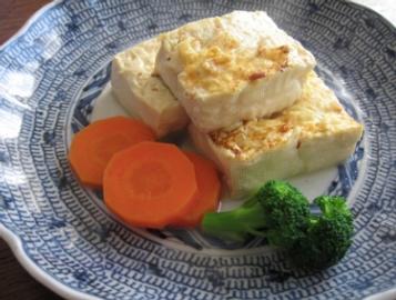 Steack de tofu fuji yuzu ponzu Vinaigre Iio Zojo