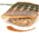 Bar grillé et quinoa - Vinaigrette Champonzu